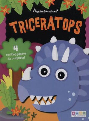 Triceratops Puzzle Book- 20 pc x 4