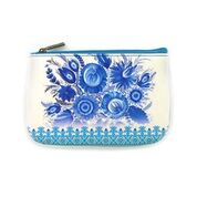 Load image into Gallery viewer, Ukrainian Petrykivka style pattern small Pouch