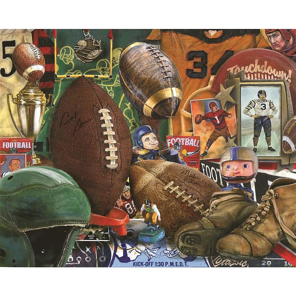 Vintage Football Springbok Puzzle- 1000pc