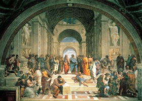 The School of Athens- 1000 PC MINI