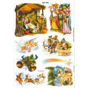 Nativity 8 Stickers