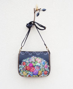 Flower print Cross Body Bag