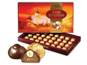 ROSHEN Kyiv Vechirniy Chocolates 352g Box