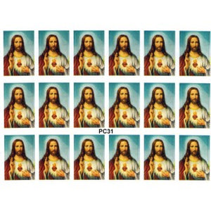 Sacred Heart of Jesus 18 Stickers