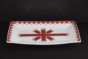 traditional rectangular serving platter