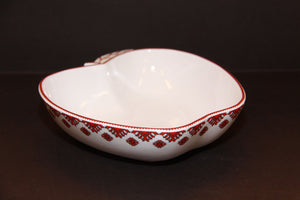 apple shape serving dish / candy dish