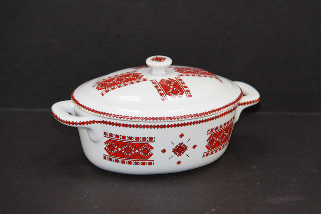 single serving casserole with lid