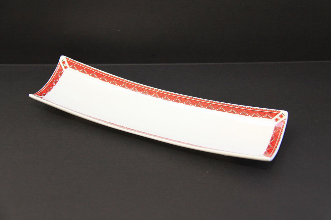 small rectangular scoop platter 12
