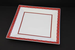 elegant square serving platter 12""
