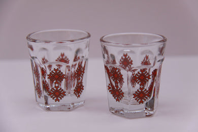 retro 1oz shot glass