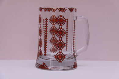 wide bottom beer mug