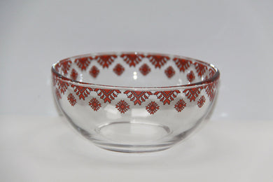 glass cereal bowl