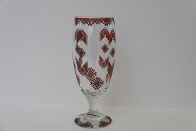 pedestal beer glass