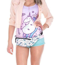 Load image into Gallery viewer, Magical Unicorn Fanny Pack Waist Bag