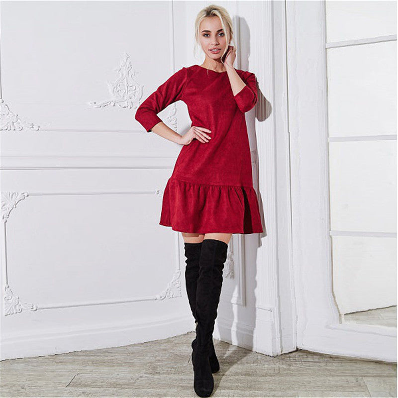 Velvet Venus Vintage Style Shift Dress