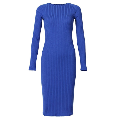 Kenai Long Sleeve Bodycon Sheath Dress