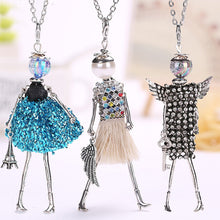 Load image into Gallery viewer, doll pendant necklace