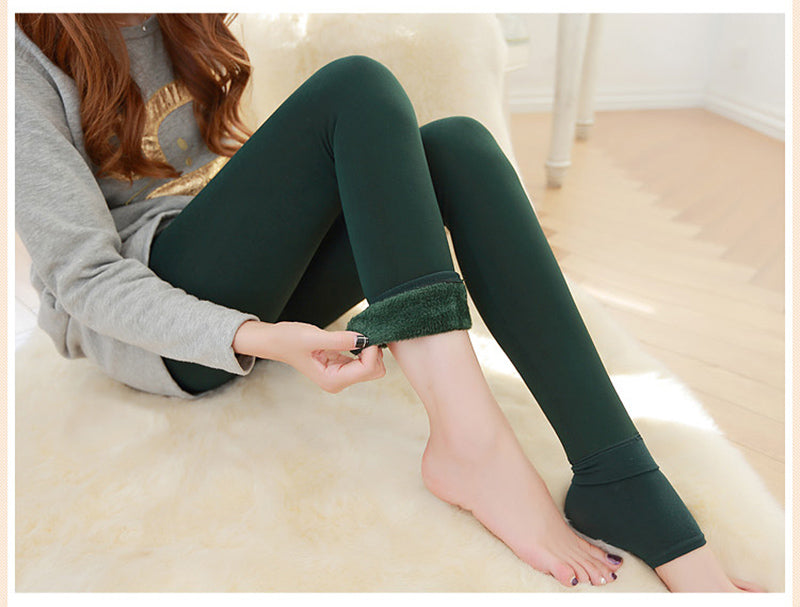 Plush Lined Over the Heel Leggings