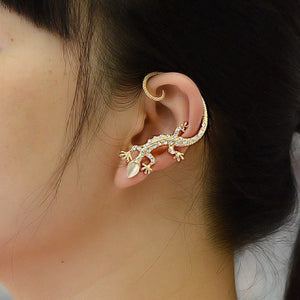 Sexy Slither Lizard Cuff Earring