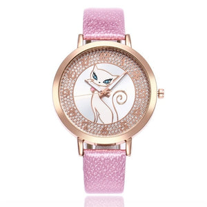cute cat watches for women