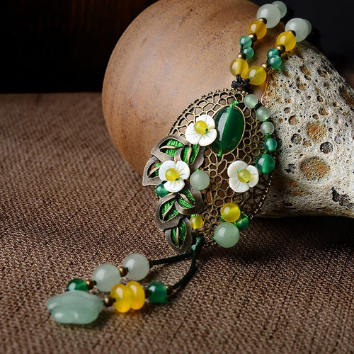 vintage handmade necklace