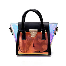 Load image into Gallery viewer, holographic jelly handbag