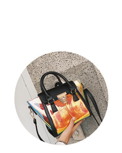 holographic jelly handbag