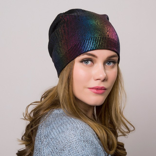 JessiColor Women's Knitted Wool Beanie