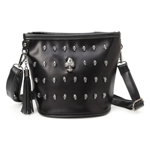 Pretty Mortal Skull Shoulder Bag