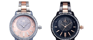 SK Kiss - Rose Gold Two Tone Stainless Steel Watch