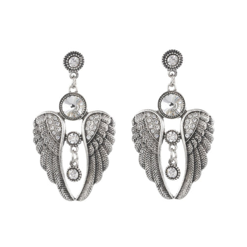 Ariel Vintage Angel Wings Earrings