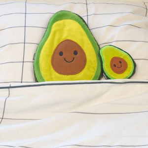 Bitten Avocado Warmteknuffel