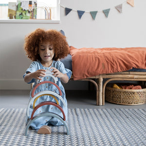Little Dutch Stapelaar regenboog Pure en Nature Collectie
