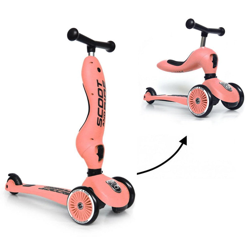 Scoot and Ride Step Highwaykick 1 Peach