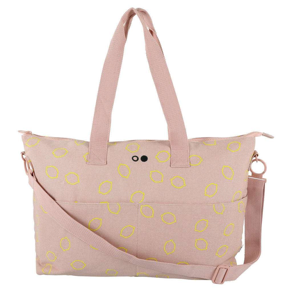 Trixie Mommy tote bag Lemon Squash Luiertas
