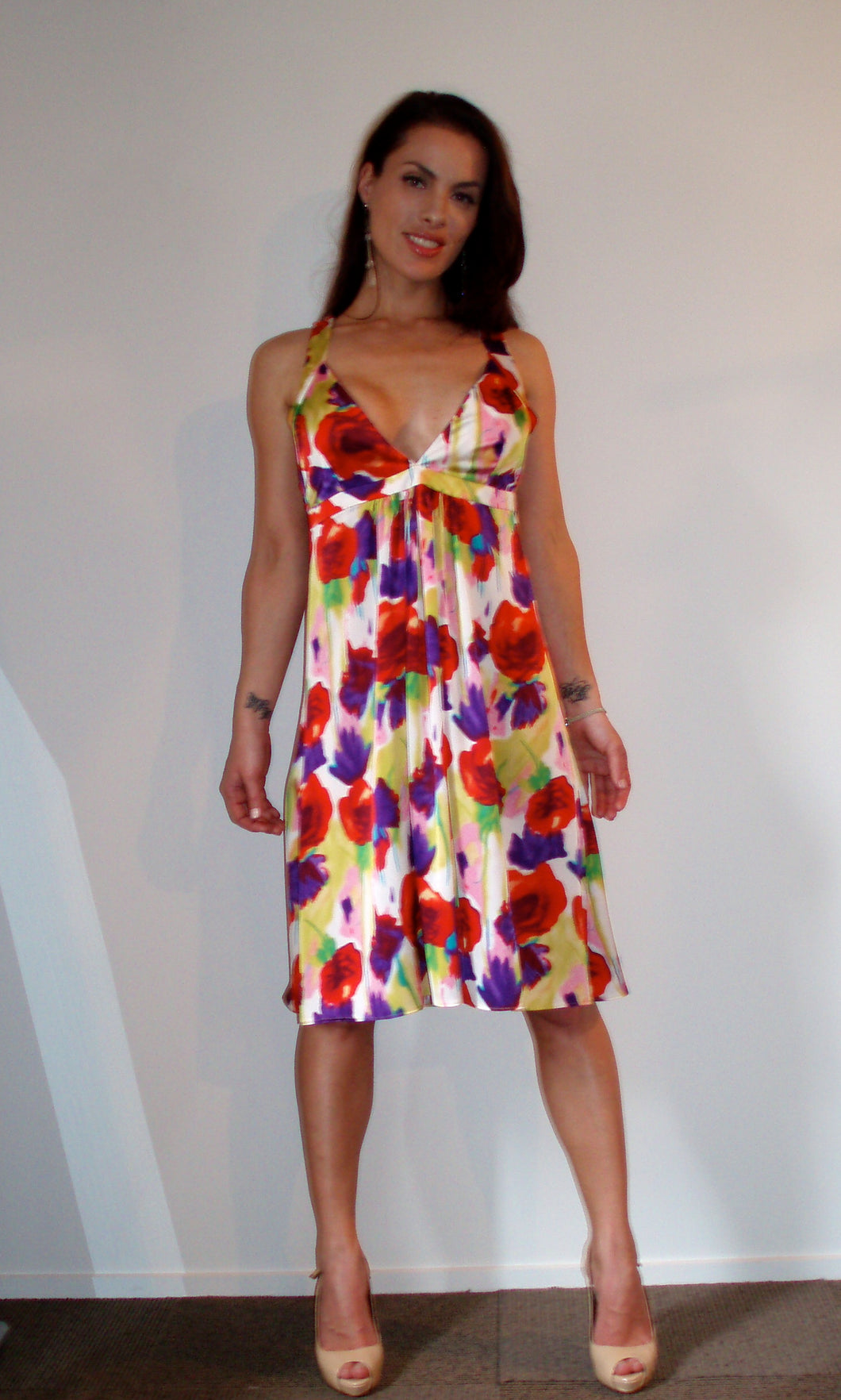 Beautiful Water print Sundress
