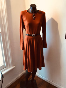 CUSTOM-MADE NZ WOOL MERINO DRESS