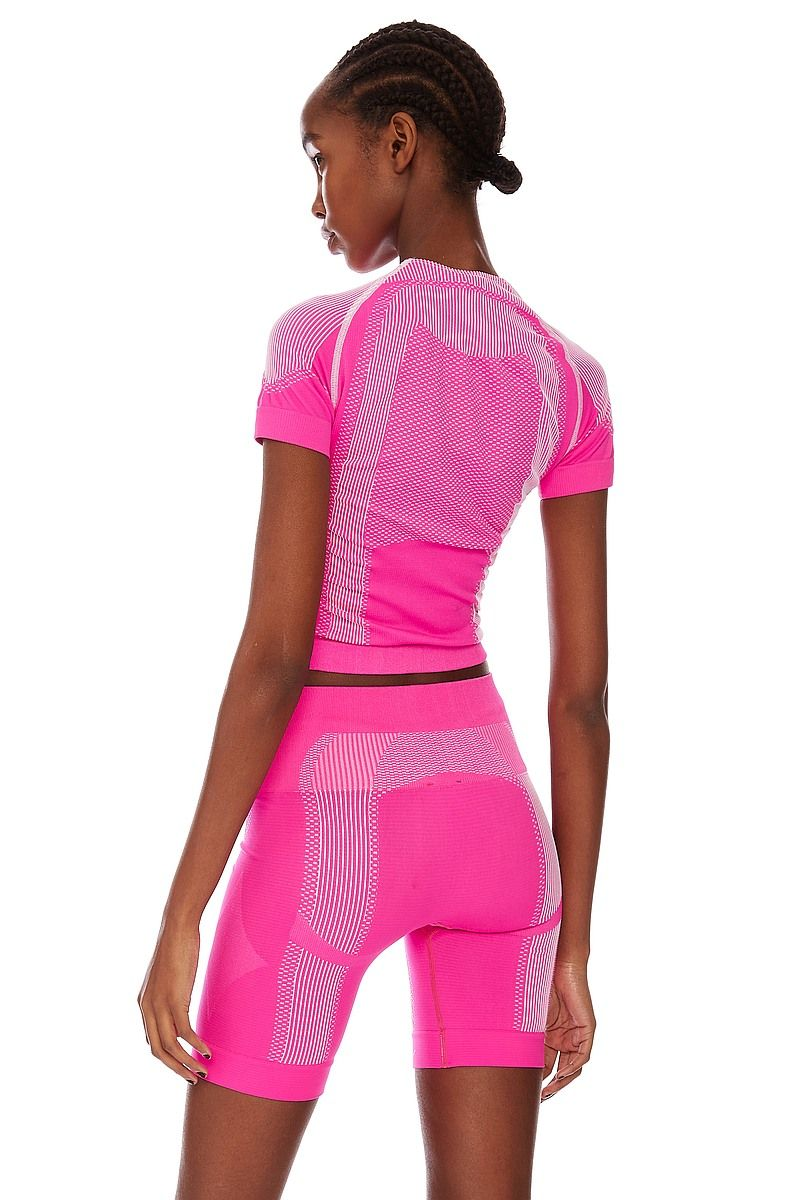 Топ MISBHV SPORT ACTIVE WEAR CROPPED PINK