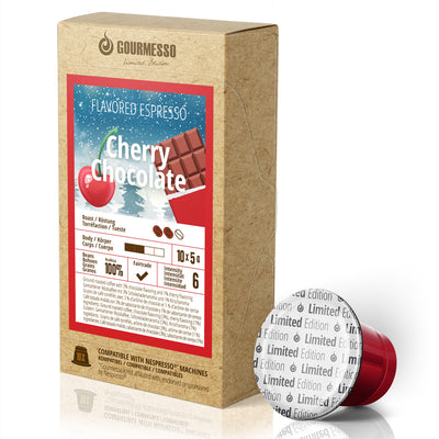 Cherry Chocolate - 10 Capsules