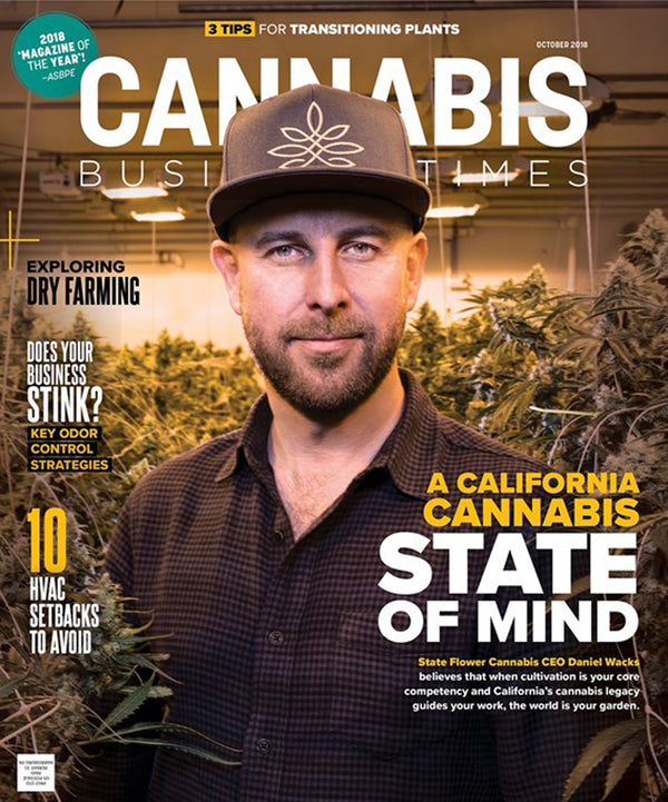 Cannabis Business Times | State Flower Cannabis CEO Daniel Wacks