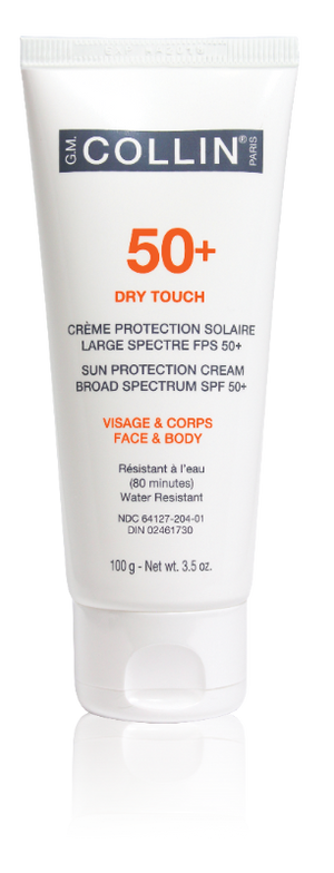 G.M. Collin 50+ Dry Touch Face & Body Sun Protection Cream