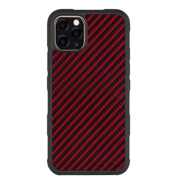 Red Carbon Fiber iPhone Case