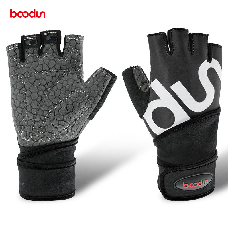 Women Half Finger Crossfit Gloves