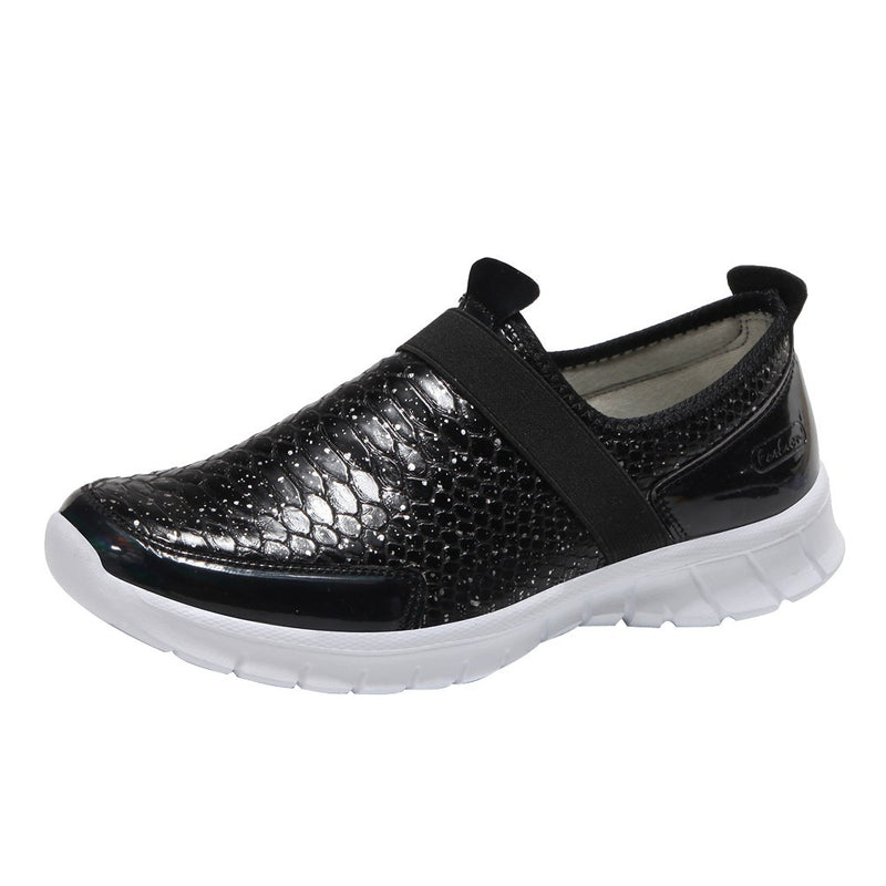 Women Round Toe Flat  Leisure Sports Shoes Comfortable Running Shoes Gym Shoes