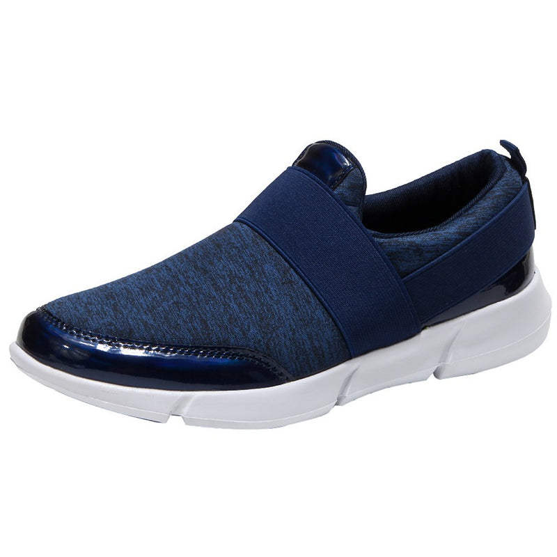 Women Mesh Casual Loafers Breathable Flat Shoes Soft Running Shoes Gym Shoes