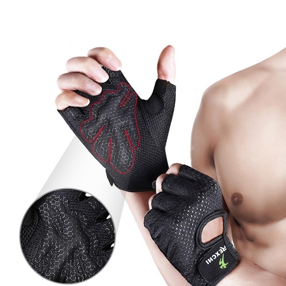 Men Women Half Finger gloves
