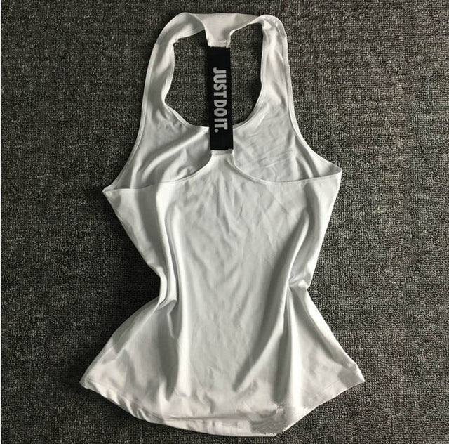 Women Yoga Sleeveless Shirts