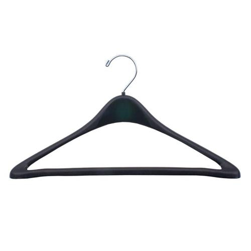 Hangers, Black Plastic Coat