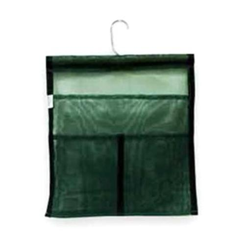 Hanging Mesh Accessory Bag - Dark Green
