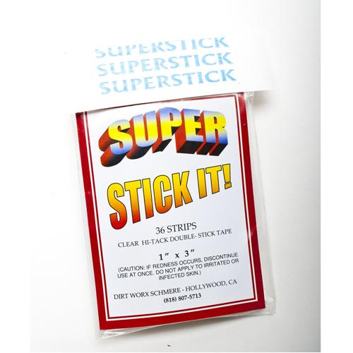 "Super Stick It! Topstick - 1"" x 3"""